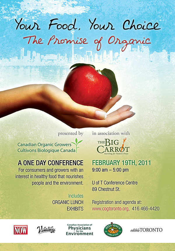 Canadian Organic Growers 2011 TTC poster