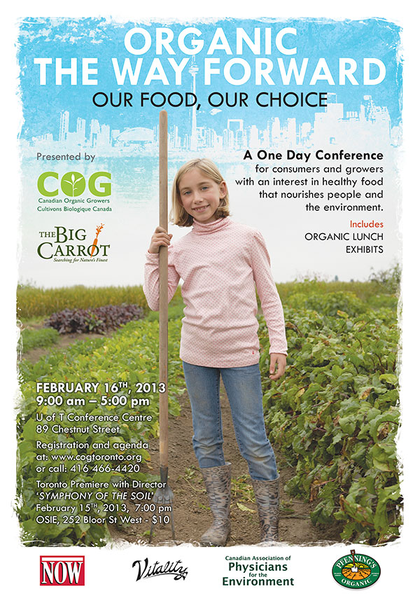 Canadian Organic Growers 2013 TTC poster