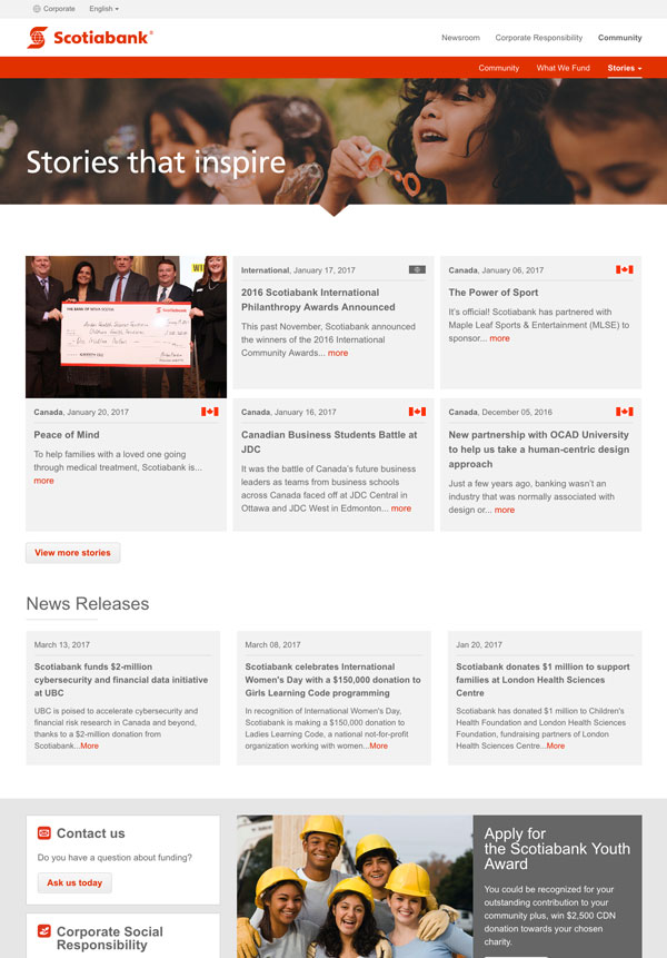 Scotiabank Community Stories